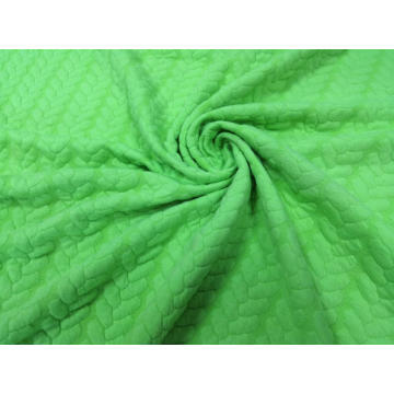 Jacquard Quilt Solid braid design Fabric