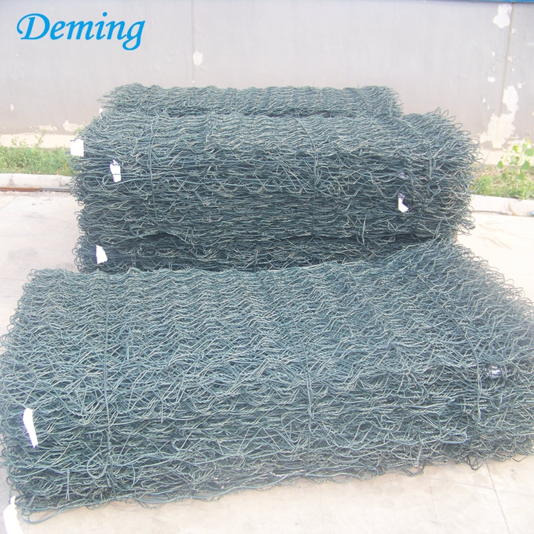 Factory PVC Coated Hot Dip Galvanized Gabion Box for Sale
