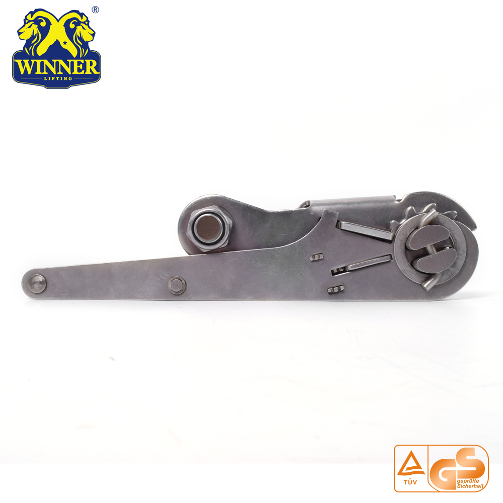 High Quality Long Wide Handle Ratchet Buckle For Webbing