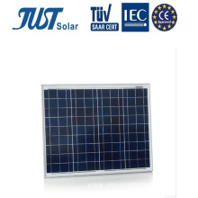 High Efficiency 50W Solar Panels with CE, TUV Certificates