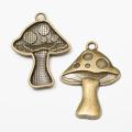 8 pcs Antique zinc alloy mushroom Charms Diy Jewelry Finding 7885