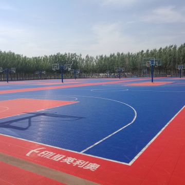 ITF approved outdoor interlocking sports tiles
