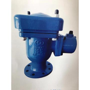 Double orifice air release and vacuum Valve