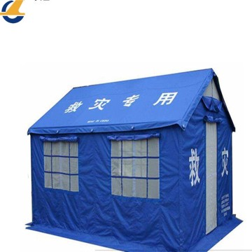 Customized durable disaster tent