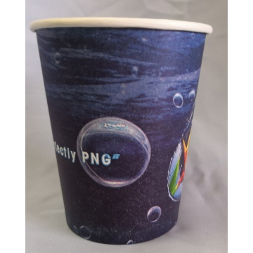 Disposable Kraft Paper Biodegradable Coffee Cup