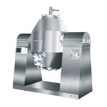 Continuous Industrial Rotary Vacuum Dryer With Blades