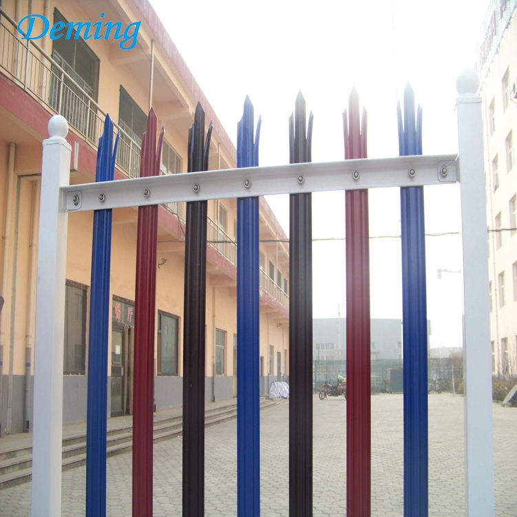 High Quality Galvanized Palisade Fencing for House