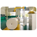 Paper reel V-slat conveyor
