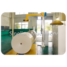 Auto Paper Packaging Spew Code Machine