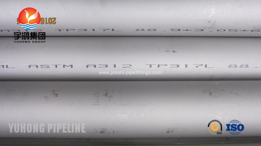 ASTM A312 TP317L Stainless Steel Seamless Pipe