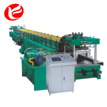 Machinery roofing panel make c purlin machine