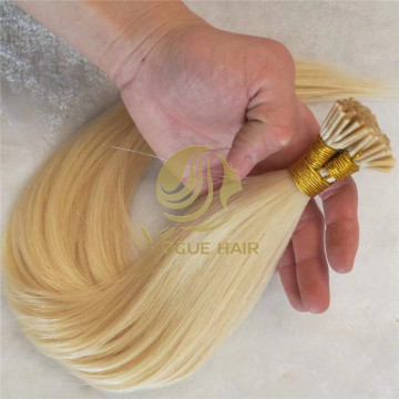 I tip remy cuticle human hair extensions