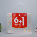 PP Clear flower hand pp gift bag