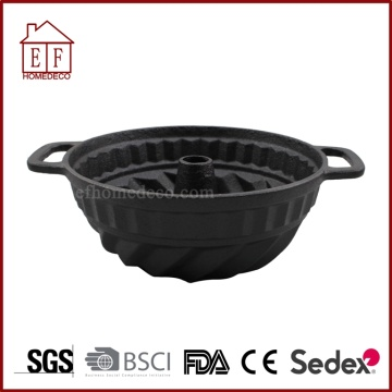 Pre-seasoned Cast Iron cake pot