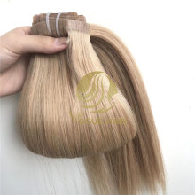 P14/16 Seamless pu clip in hair extensions