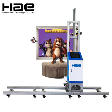 Tablet PC 3D Vertical Wall Printing Machine