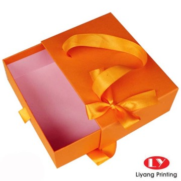 Sliding Drawer Packaging Box with paper bag