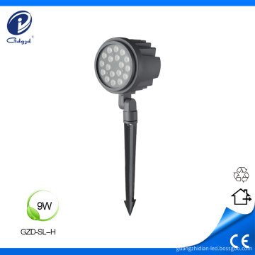 Outdoor 9W with spike garden led spotlights