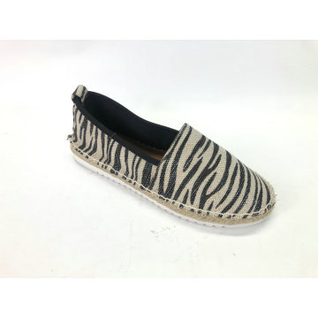 Ladies Slip On Loafer Round Toe Espadrille Sneaker