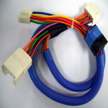 Car receive wiring harness