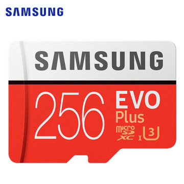 SAMSUNG Memory Card EVO Plus Micro SD 128GB 64GB 32GB Class10 MicroSD Card C10 UHS-I EVO+ 16GB 256GB Trans Flash MicroSD Card