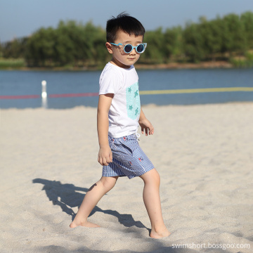 Polyester Digital Print Boys Swimming Pants