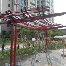 Lightweight Metal Steel Frame Trusses for sale