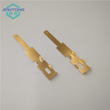 EDM wire cutting for electric brass terminal