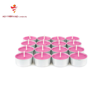 Tealights box packaging for candles wholesale