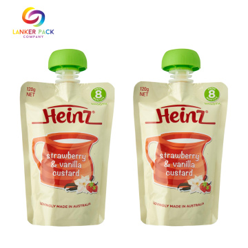 baby food packaging bag