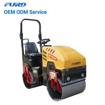 Factory Supply 1 ton Vibratory Road Roller Used for Compaction
