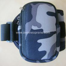 Camouflage Neoprene Armbands With Adjustable Strap
