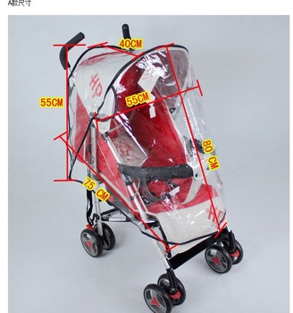 Transparent Baby Infant Safety Seat Cover