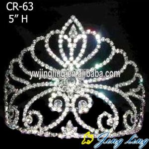 Rhinestone Crowns Crystal Tiaras Cheap CR-63