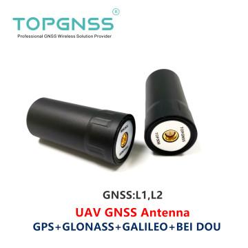 2PCS UAV RTK GNSS handheld Receiver helical spiral GNSS antenna RTK GNSS GPS antenna GLONASS GALILEO BEIDOU ZED-F9P SMA-J TOP508
