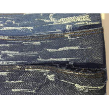 Popular Coated Show-Off Print Denim Cotton Indigo