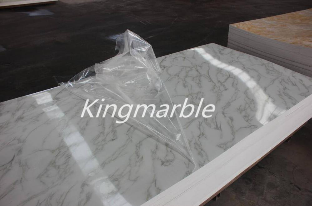 wall decorative uv pvc marble PVC Sheet