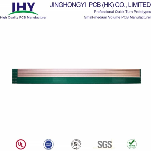 1.5m Ultra Long Fr-4 Material 4-layer LED PCB Board