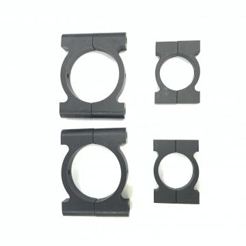 aluminum clamp for carbon fiber pole