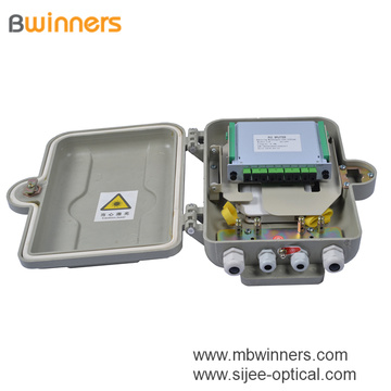 Ip65 Smc Fiber Optic Distribution Box Splitter Box For Fttx