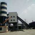 Central control stationary concrete batching plant for sale