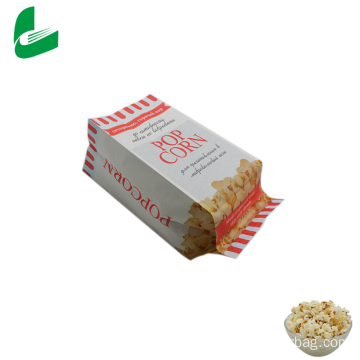 Biodegradable microwave popcorn bag