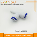 Pom Plastic Stem Plug In Tee Adapter
