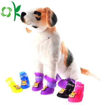 Waterproof Silicone Pet Shoes Rabbit/Cat Dog Boot