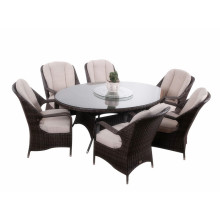 7pc modern  rattan dinner furniture set