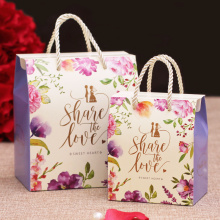 Candy packaging paper wedding favor box