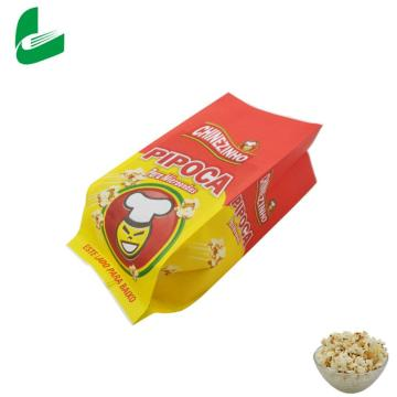 wholesale custom mini greaseproof microwave popcorn paper bags