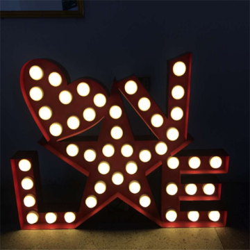 Custom Battery Operated Marquee Letters