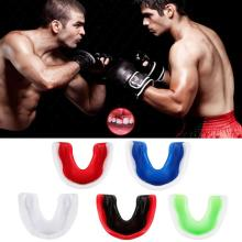 EVA Adult Mouth Guard Silicone Teeth Protector Mouthguard Boxing Sport Basketball Hockey Karate Muay Thai Safety Protection