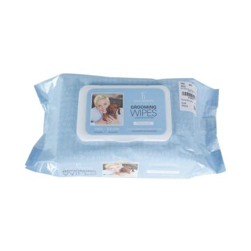 Pet Skin Care Unscented Pet Grooming Wipes